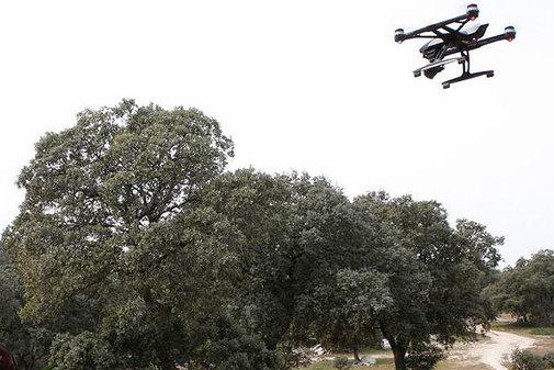 Drones para uso medioambiental.
