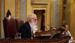 Agustín Zamarrón preside la 'Mesa de Edad' en la primera sesión del...
