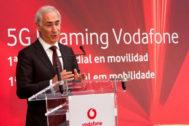 António Coimbra, presidente y CEO de Vodafone España.
