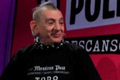 Evaristo, cantante de La Polla Records.