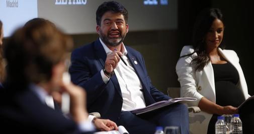 Carlos Sánchez Mato y Begoña Villacís, en una debate electoral.