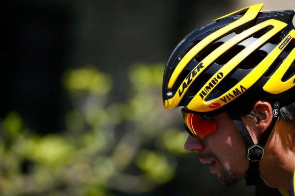 Primoz Roglic, durante la undécima etapa del Giro.