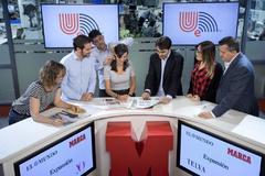 Parte del equipo de UEtv, la nueva productora audiovisual de Unidad Editorial.