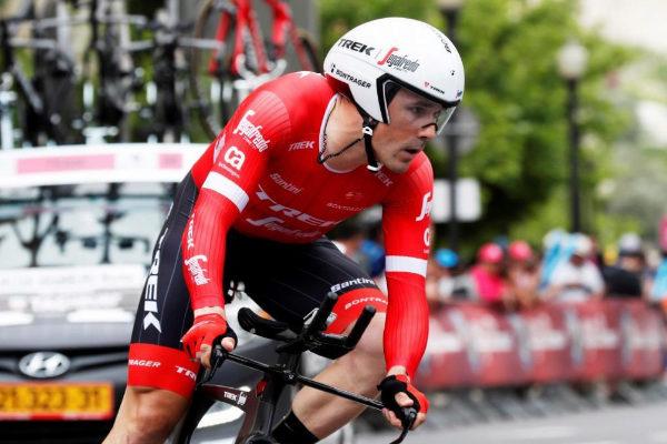 Markel Irizar, durante el Giro de Italia de 2018.