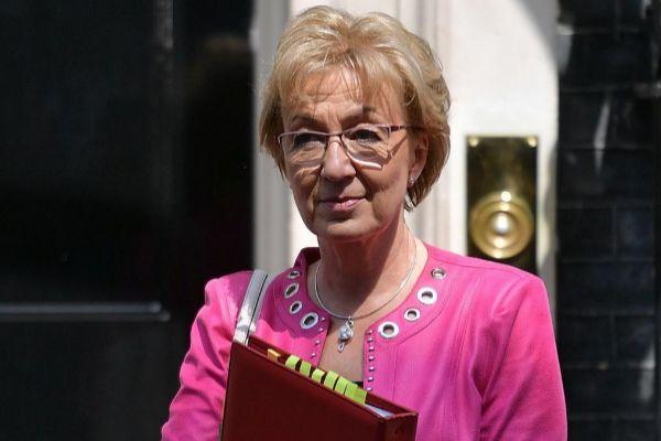 La ministra británica, Andrea Leadsom.