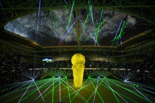 Ceremonia inaugural del estadio Al Wakrah en Doha, el pasado jueves.