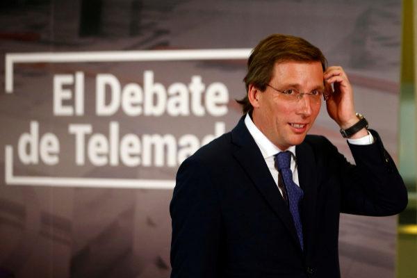 El candidato del PP, José Luis Martínez-Almeida.