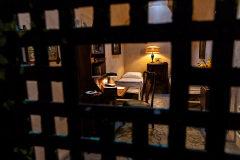 La celda del mafioso desde fuera.