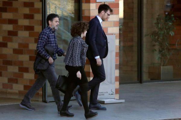 Oriol Pujol sale de la prisión de Brians, en marzo, tras serle concedido el tercer grado.