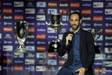"""Juanfran se despide del Atlético: """"Vino un 'vikingo' y se va un 'indio'"""""""