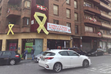 """Rivera en el pueblo de 'Josu Ternera': """"No nos callasteis con tiros, no nos vais a callar con sirenas"""""""