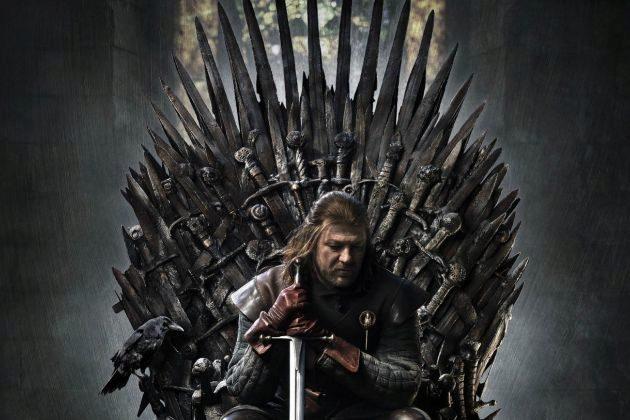 Ned Stark (Sean Bean) en el póster de la primera temporada de Juego de Tronos en HBO, que podría hacer un spoiler sobre lo que iba a pasar en el final de la serie