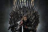 Ned Stark (Sean Bean) en el póster de la primera temporada de Juego...