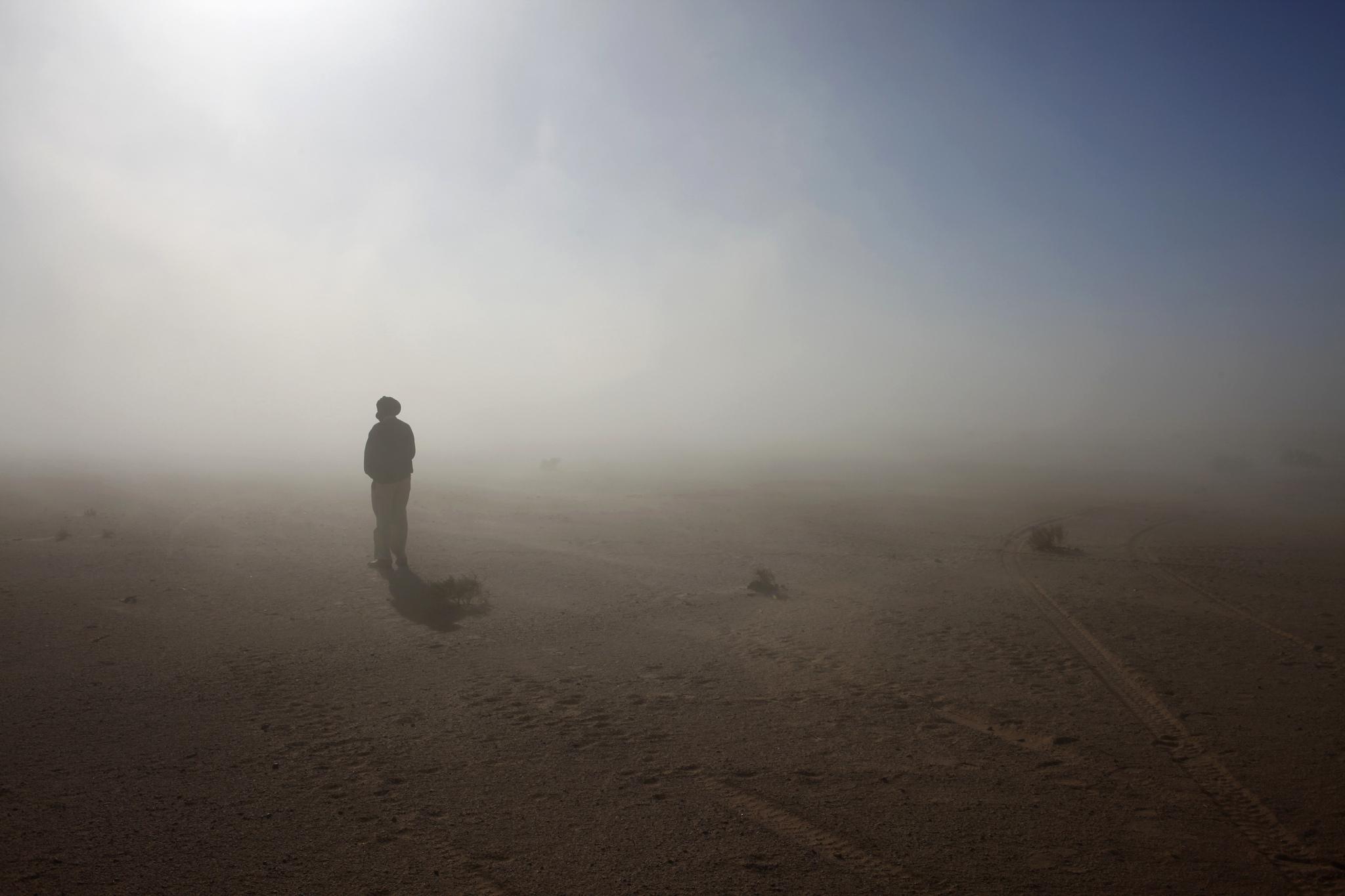 Desierto del Sáhara, entre Tinduf y Tifariti.