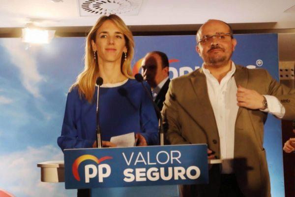 Antonio Moreno 28.04.2019 Barcelona Cataluña .<HIT>Cayetana</HIT> AlvarezToledo candidata PP ,noche resultados de las Generales 2019 en Barcelona