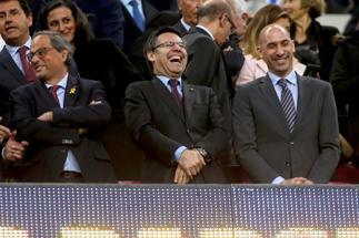 """Bartomeu: """"¿Por qué hay barcelonistas insatisfechos?"""""""