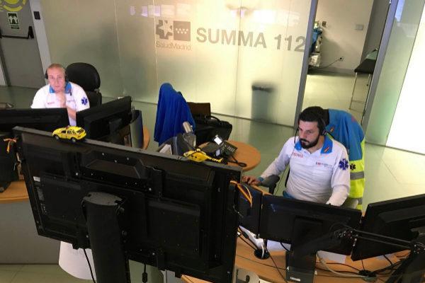 Operarios del SUMMA-112  de Móstoles