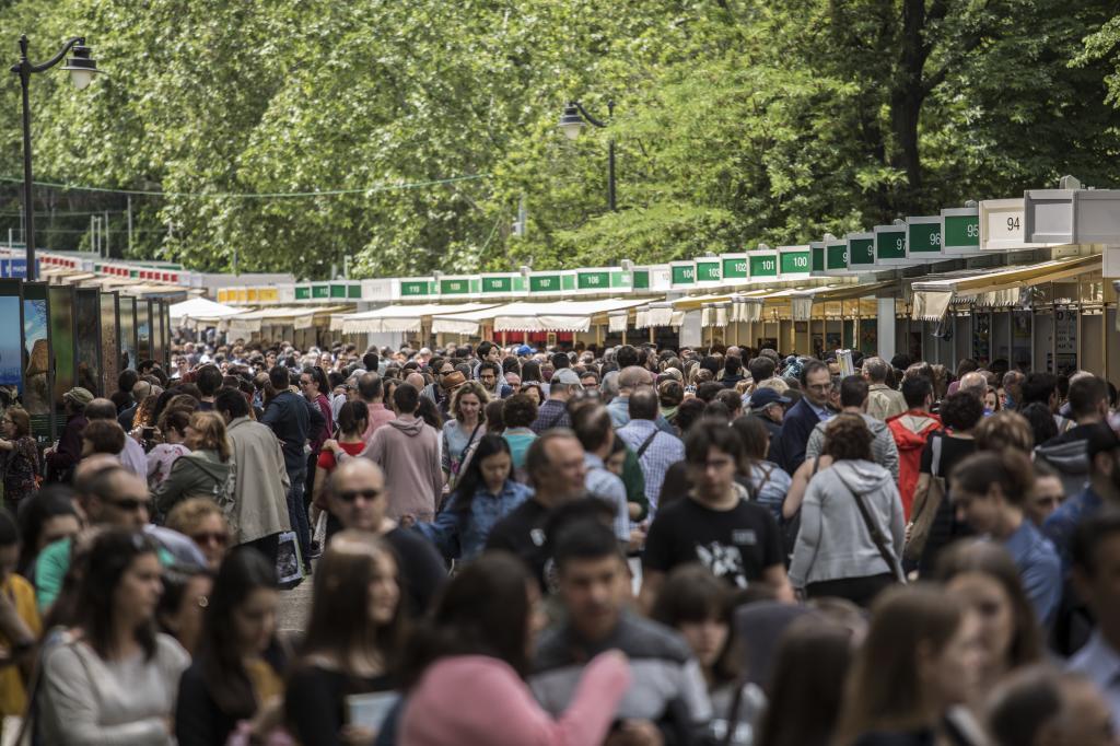 La Feria del Libro del año pasado.