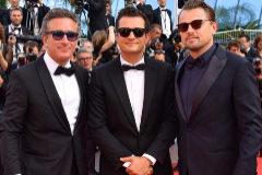Alejandro Agag, Orlando Bloom y Leonardo DiCaprio - Alfombra roja de 'The Traitor' en el Festival de cine de Cannes 2019