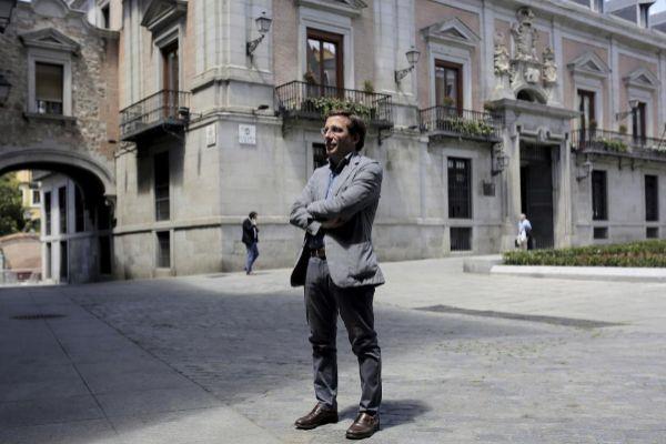 El candidato del PP a la Alcaldía, José Luis Martínez-Almeida