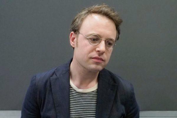 El escritor estadounidense Joshua Cohen, fotografiado en 2008 en Turín.