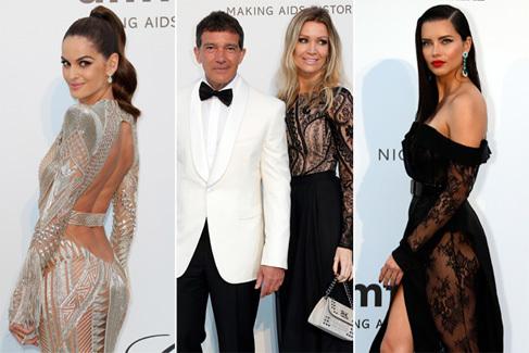 Estrellas, modelos e influencers en el Cannes más solidario