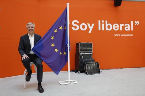 El cabeza de lista a las europeas de Ciudadanos, Luis Garicano