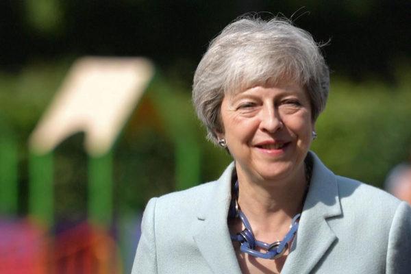 La 'premier' británica Theresa May.