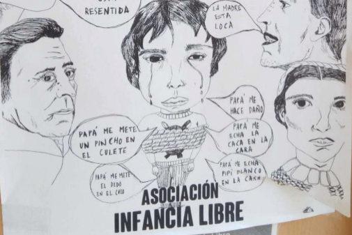 """""""Papá me ha mordido ahí"""": las denuncias sexuales falsas de las tres madres detenidas de Infancia Libre"""