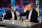 Pablo Motos e Iñaki Gabilondo en El Hormiguero en Antena 3, donde el...