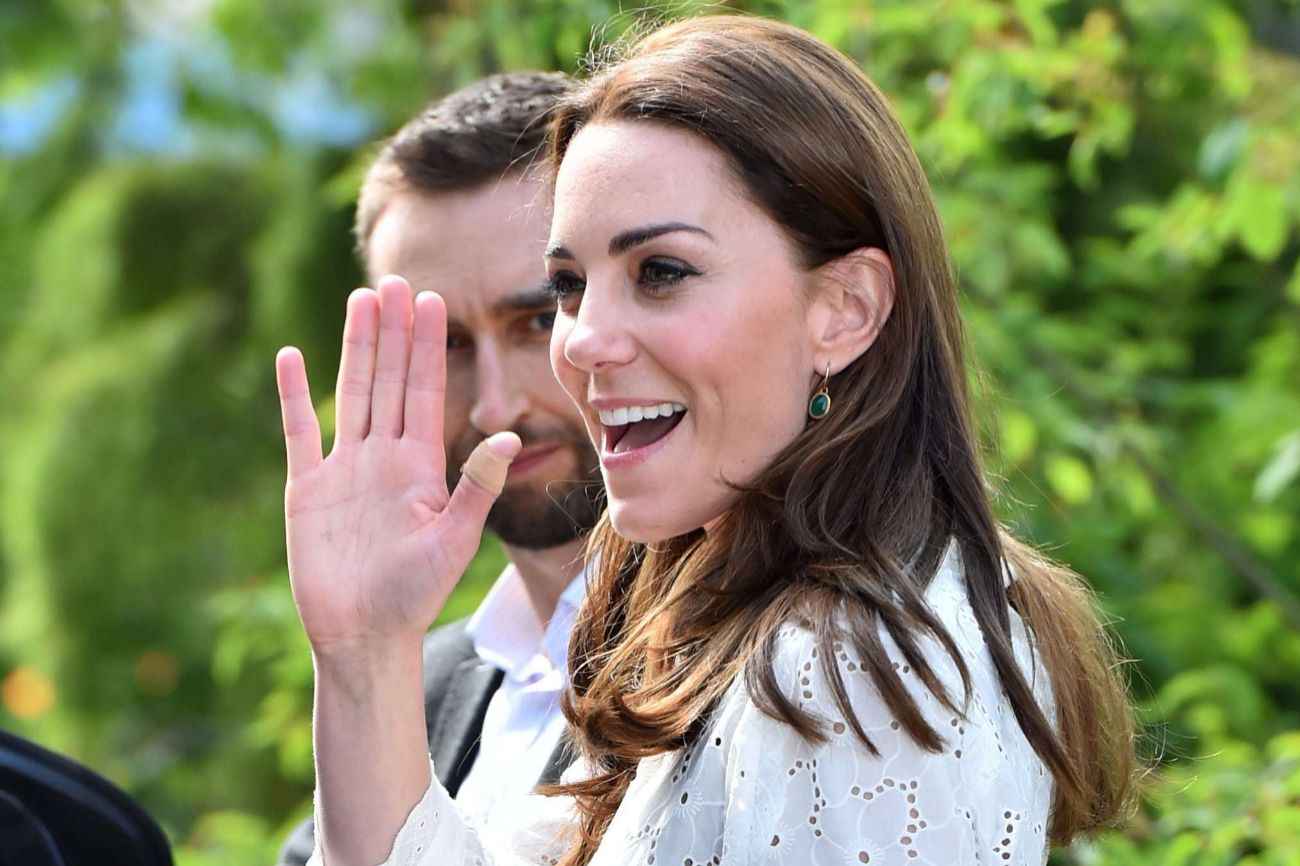 Hace casi dos semanas, Kate Middleton daba rienda suelta a su pasión...