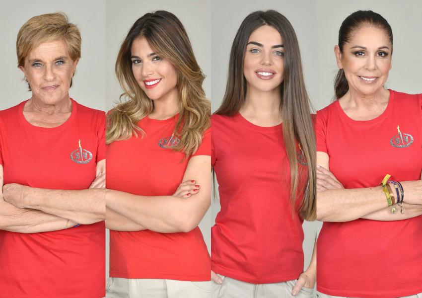 Chelo García Cortés, Lidia Santos, Violeta Mangriñán e Isabel Pantoja son las nuevas nominadas de del 'reality' de Telecinco Supervivientes 2019