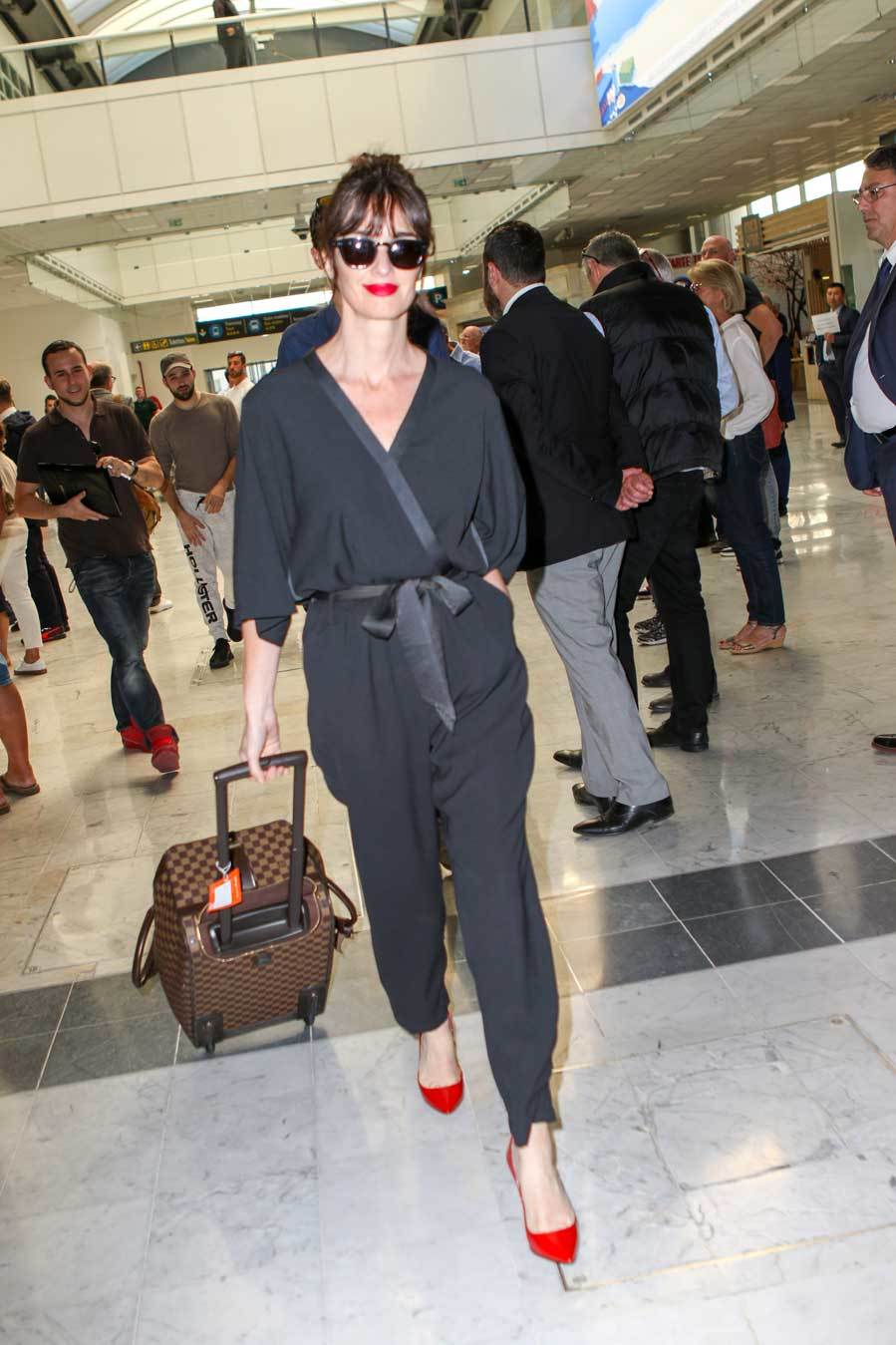 Paz ha llegado muy estilosa a Cannes. La española ha aterrizado en...