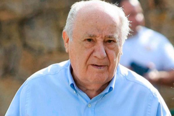 El empresario gallego Amancio Ortega, fundador de Inditex.