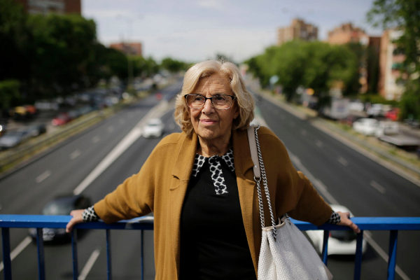 Manuela Carmena. FOTO: Olmo Calvo