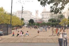 Figuración de la plaza de la Reina tras la reforma.