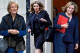 Leadsom, Rudd y McVey, principales candidatas para suceder a la 'premier'.