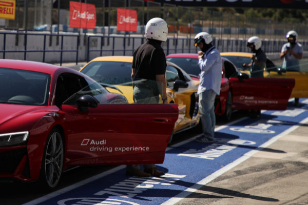 Cómo sacar el máximo partido a tu Audi de modo seguro en un circuito