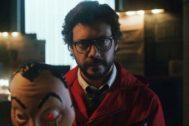 El Profesor (Álvaro Morte) en el nuevo tráiler de la tercera temporada de La Casa de Papel en Netflix