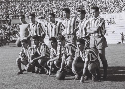 Pazos, durante su etapa en el Atlético.