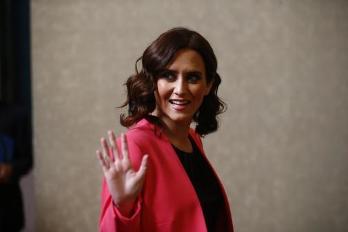 Candidata del PP en la Comunidad de Madrid, Isabel Díaz Ayuso.