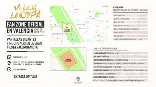 ¿Dónde puedes  vivir la final de Copa del Rey en Valencia?