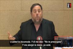 Junqueras explica desde prisión el 'no te preocupes' de Sánchez