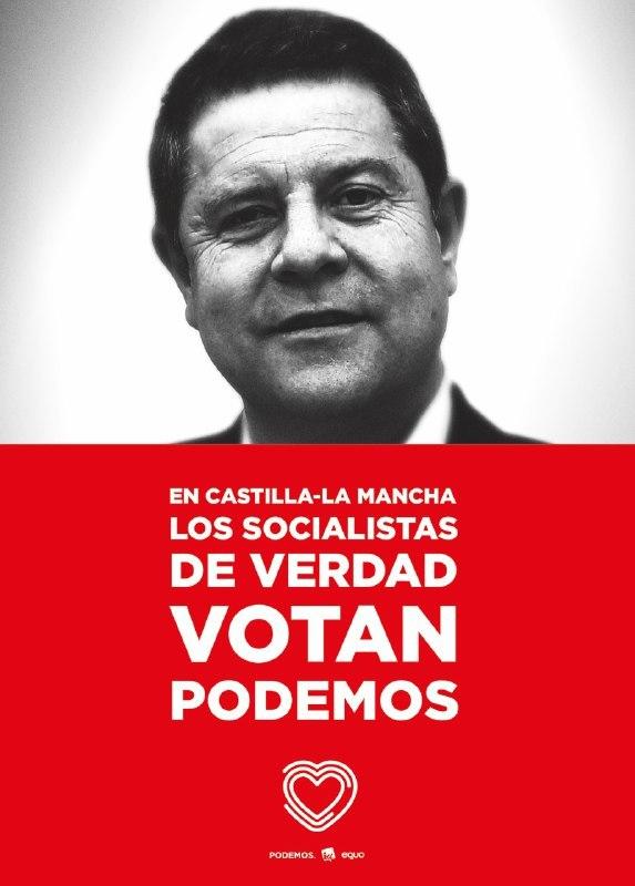 Expedientan a la directora de la radiotelevisión de Castilla-La Mancha por censurar una campaña de Podemos