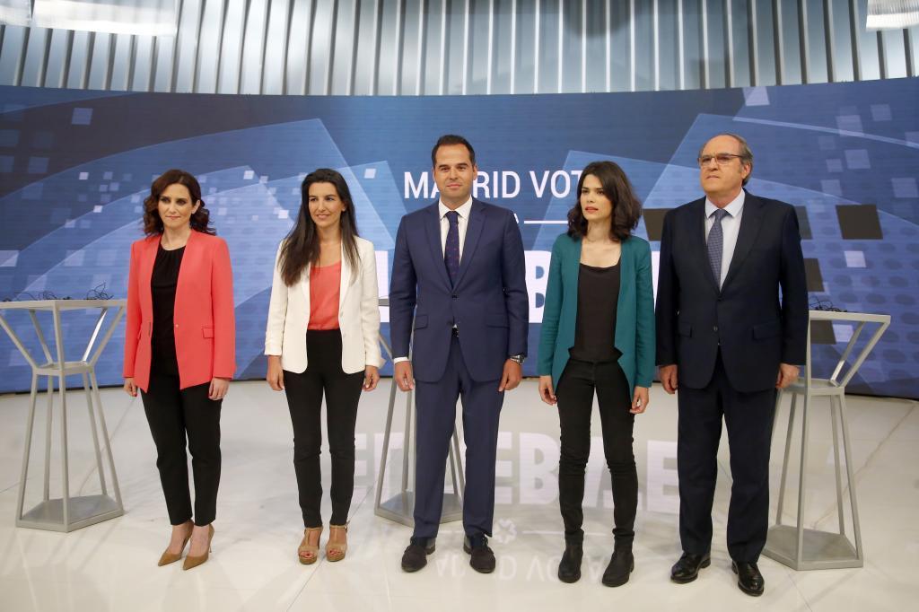 Así son los candidatos a la Comunidad de Madrid