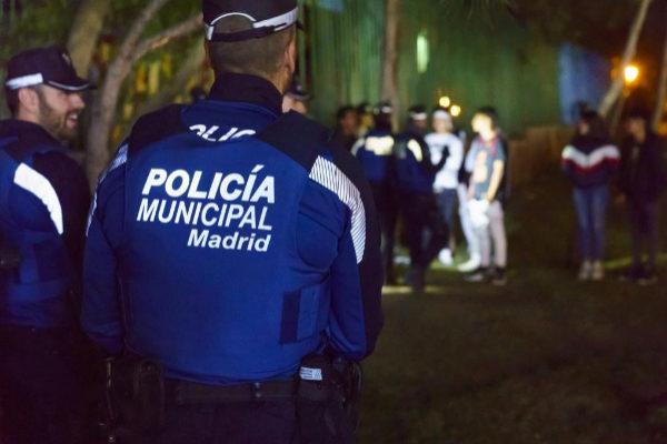 Agentes de la Polícia Municipal de Madrid
