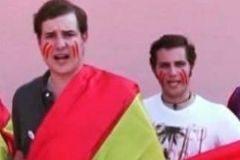 Santiago Ribas junto a José Manuel Menéndez