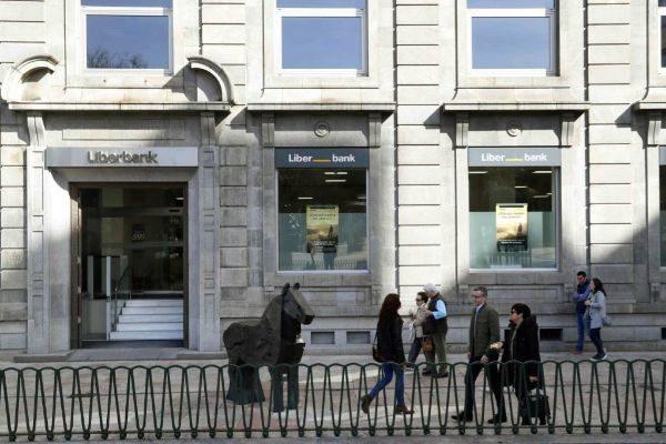 Imagen de las oficinas centrales de Liberbank en Oviedo.