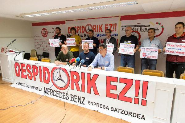 El comité de Mercedes Vitoria denuncia desinformación ante el futuro y un posible ERE