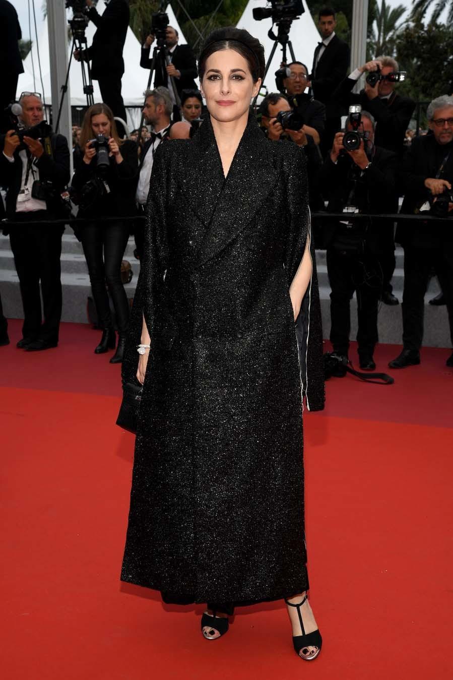 Amira Casar - Alfombra roja de Sibyl en Cannes 2019